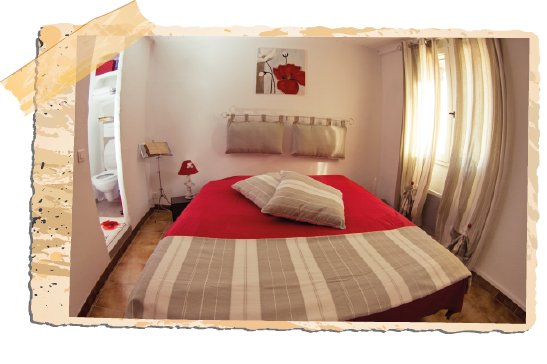 frames chambres coquelicot